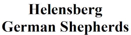 Helensberg German Shepherds